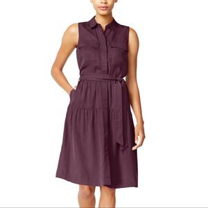 Maison Jules• Utility-Pocket Shirt Dress